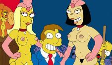 El alcalde Joe Quimby en un club de alterne