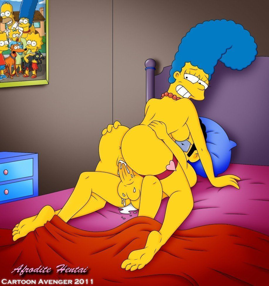 marge en el video de comics eroticos 4 de Marge en el video de Comics Eroticos